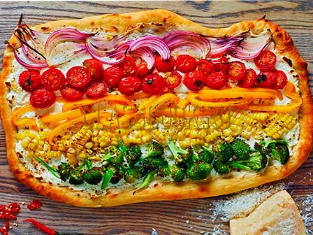 Вегетарианская пицца.