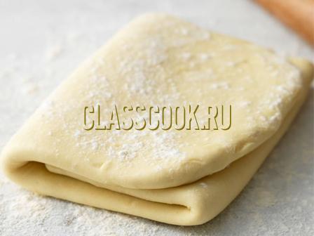 Тесто слоеное бездрожжевое.
