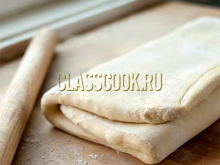 Слоеное дрожжевое тесто в домашних условиях.