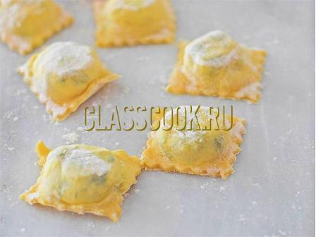 Тесто для равиоли рецепт.