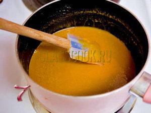 соус из карамели