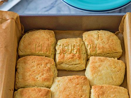 Мягкое бисквитное печенье.