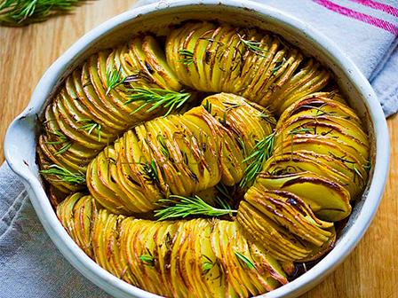 Рецепт фаршированного картофеля.