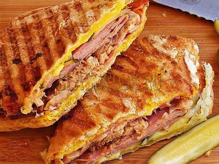Рецепт горячие бутерброды.