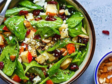 Сочный хрустящий салат.