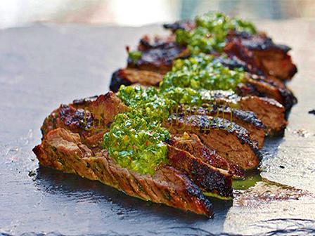 говяжий стейк на гриле
