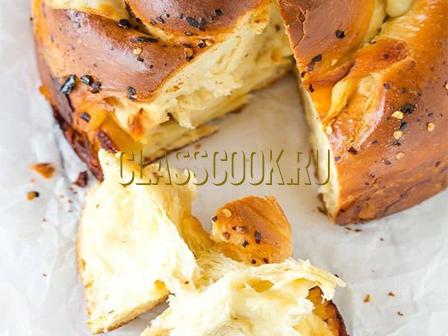 Сырный хлеб.