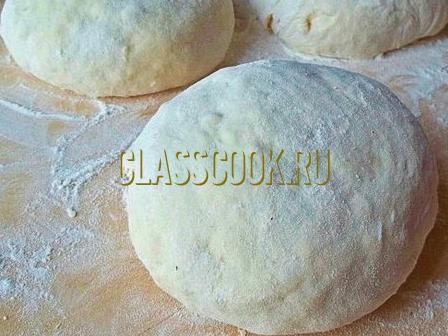 Тесто для хачапури.