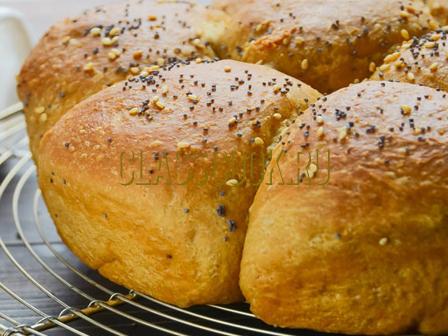 Хлебные роллы.
