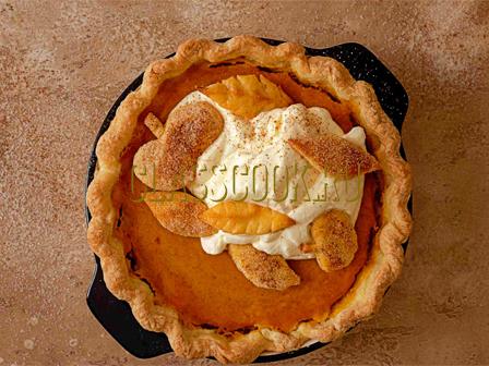 Рецепт простого тыквенного пирога.