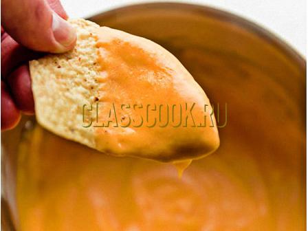 Рецепт сырного соуса.