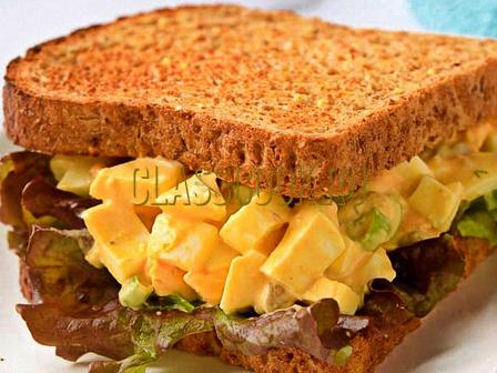 Классический сэндвич.