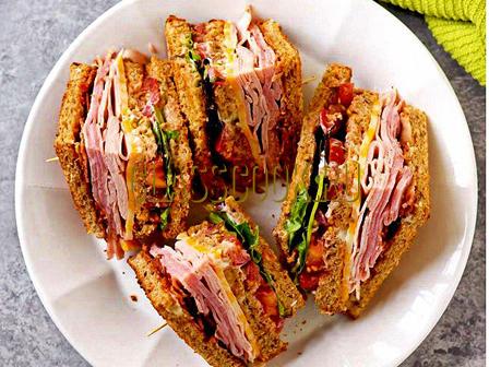 Клубный сэндвич.