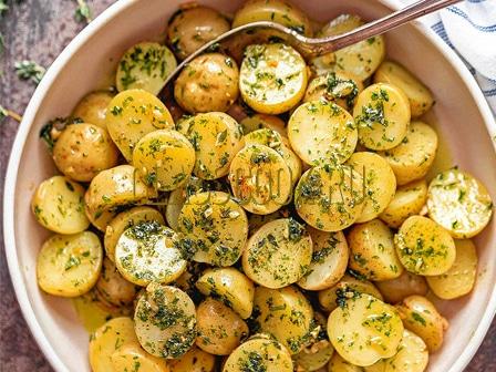 Молодой картофель.