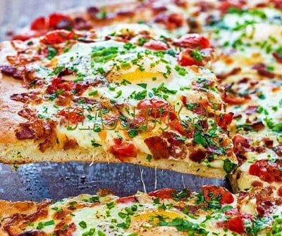 Рецепт пиццы.